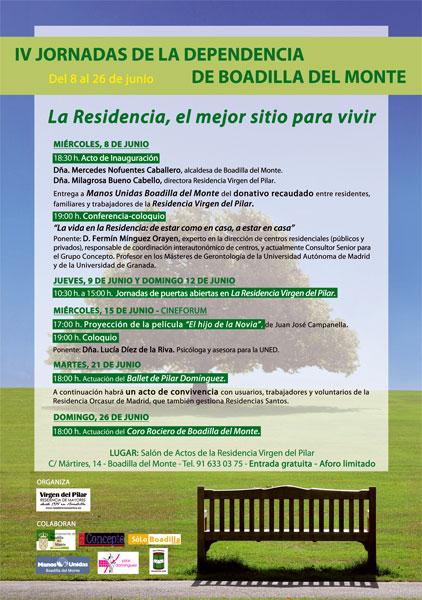 Nuevas jornadas sobre dependencia en la residencia virgen - Residencia boadilla del monte ...